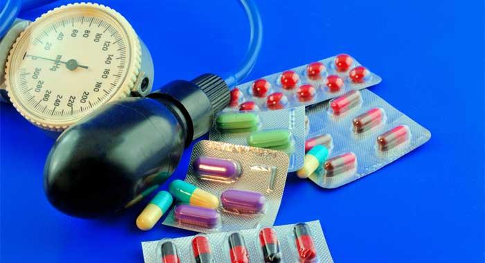 Diabetes tipo 2: medicamentos para la presión arterial..